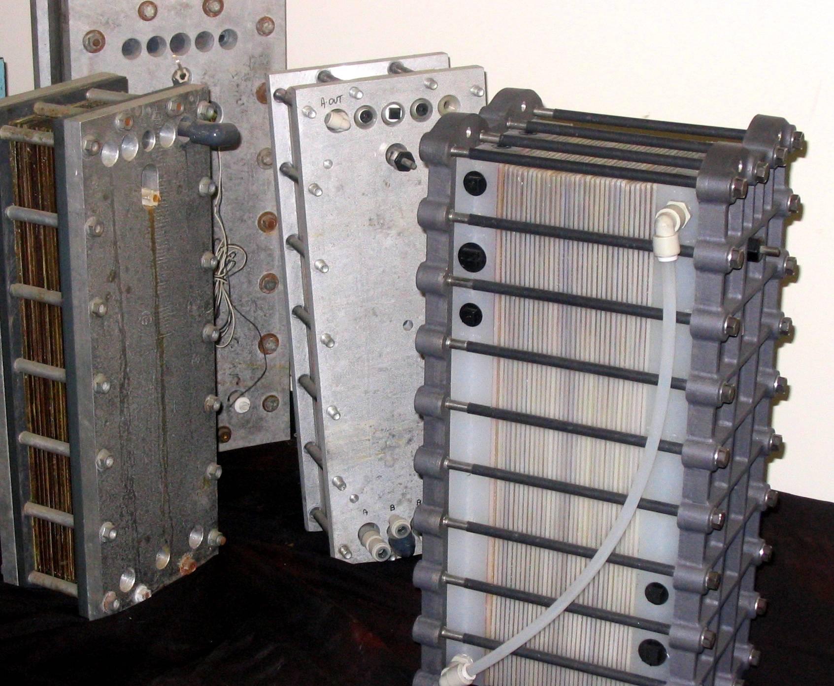 Electrodeionization module history and development
