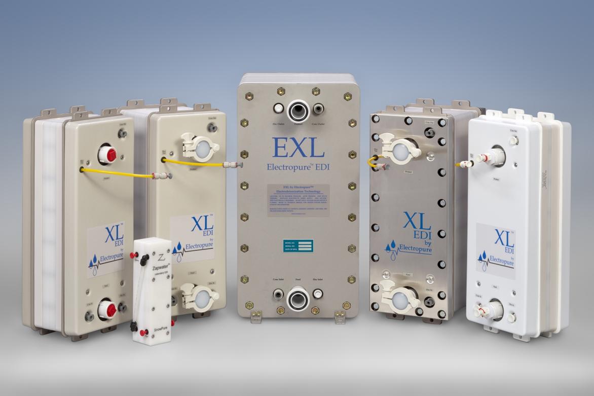 Electropure electrodeionization modules 2018